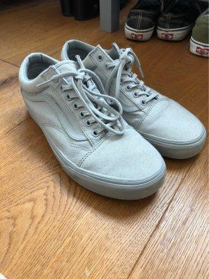 Vans Zapatos de patinador gris-color plata