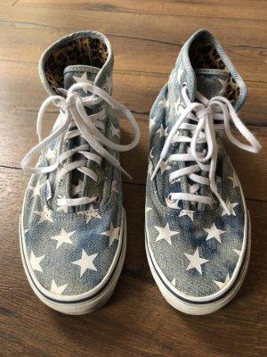 Vans Zapatos de patinador blanco-azul celeste