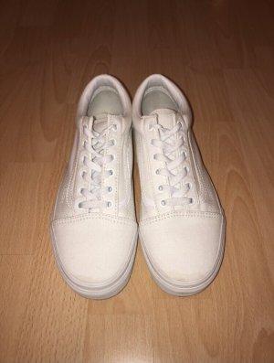 Vans Chaussure skate blanc