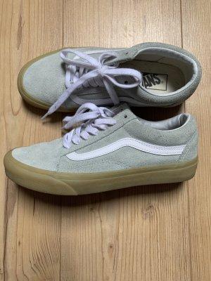 Vans Zapatos de patinador verde grisáceo