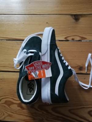 Vans Lace-Up Sneaker forest green