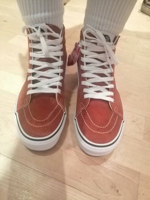 Vans High Top Sneaker russet