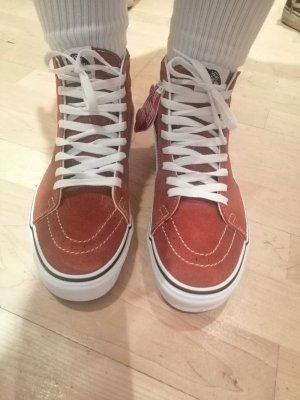 Vans Sneaker alta ruggine