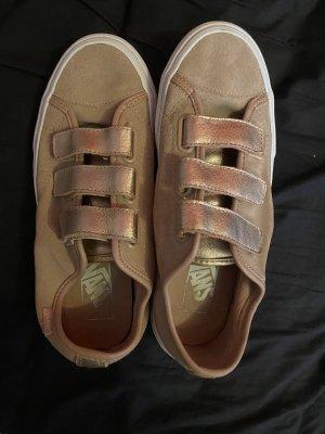 Vans Zapatos de patinador color rosa dorado
