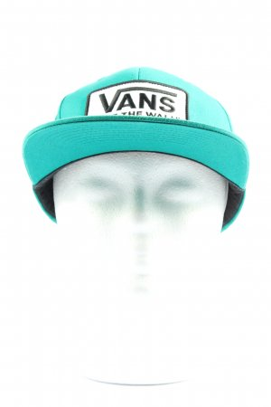 Vans Visor Cap turquoise embroidered lettering athletic style