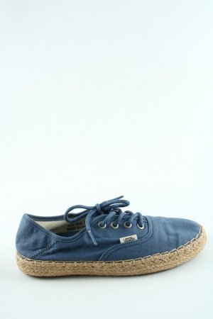 Vans Schnürschuhe blau-wollweiß Casual-Look