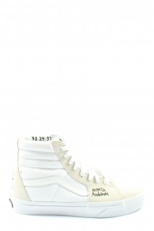 Vans Lace-Up Sneaker white-cream casual look