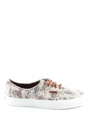 Vans Lace-Up Sneaker allover print casual look