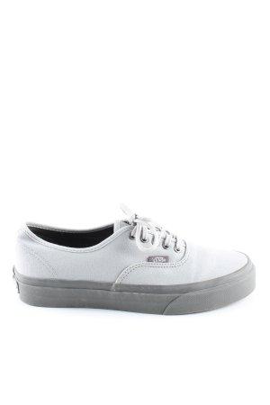 Vans Lace-Up Sneaker light grey casual look