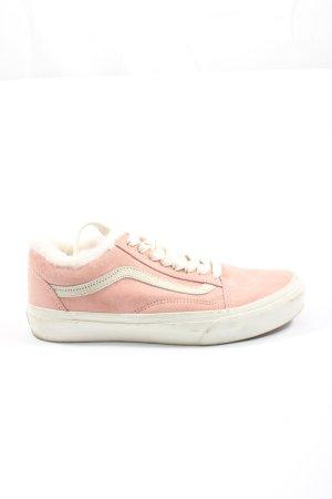 Vans Schnürsneaker pink-wollweiß Motivdruck Casual-Look