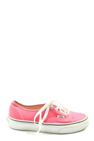 Vans Schnürsneaker pink sportlicher Stil