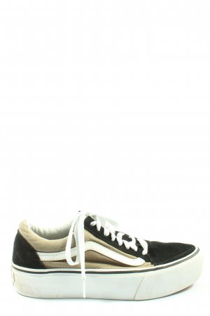 Vans Lace-Up Sneaker multicolored casual look