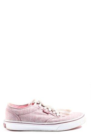Vans Schnürsneaker pink-weiß Casual-Look