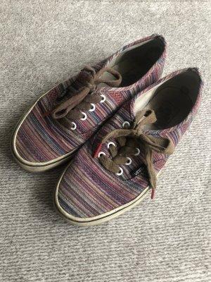 Vans Zapatos de patinador rosa-negro