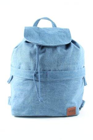 Vans Schulrucksack blau meliert Casual-Look