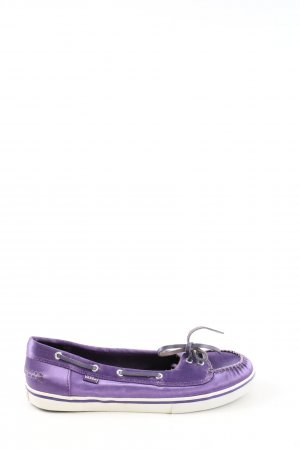Vans Zapatos de marinero lila look casual