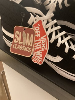 Vans, skater sneaker high, black & white, neu mit Etikett, Gr. 41
