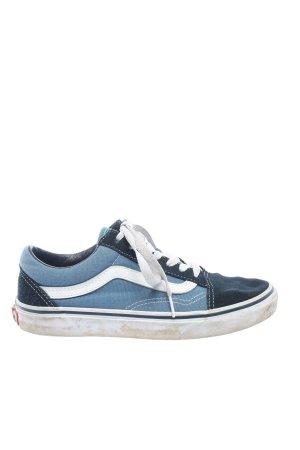 Vans Chaussure skate bleu style décontracté