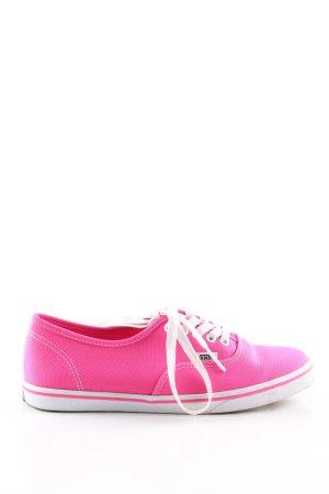 Vans Skater Shoes pink casual look
