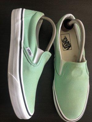Vans Zapatos de patinador turquesa-menta