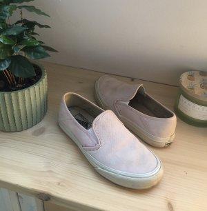 Vans Chaussure skate rose clair