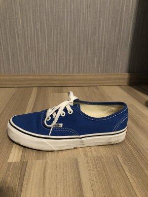 Vans Sneaker blau Gr. 36