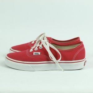 VANS Sneaker Gr. 37 (US7) rot (20/09/362*)