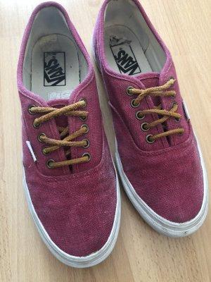 Vans Sneaker pink Größe 40
