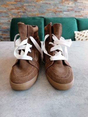 Vans Sneaker con zeppa marrone