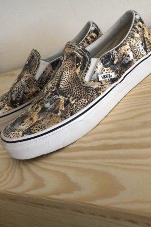 Vans Sneaker / Slip on Gr.37 neu animalprint Leo