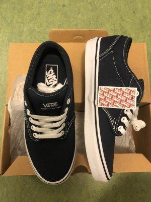 Vans Skater Shoes dark blue