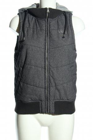 Vans Quilted Gilet light grey-black flecked casual look