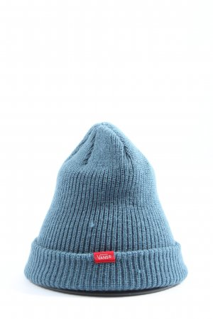 Vans Knitted Hat blue casual look