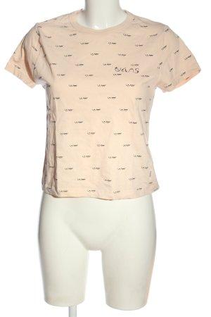 Vans T-Shirt creme Motivdruck Casual-Look