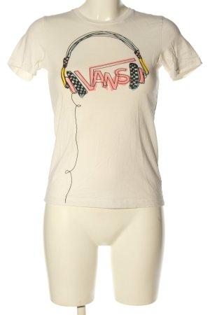 Vans T-Shirt Motivdruck Casual-Look