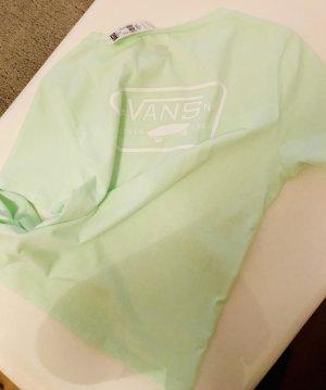 Vans Basic Shirt pale green-white