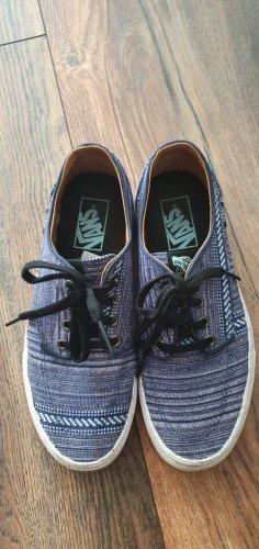 Vans Skater Shoes neon blue-blue mixture fibre