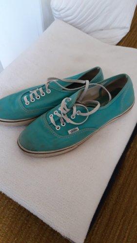 Vans Skater Shoes white-turquoise