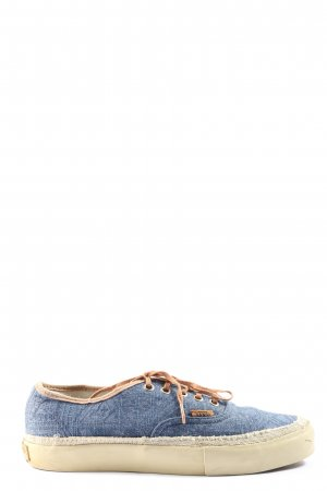 Vans Wedge Sneaker blue casual look
