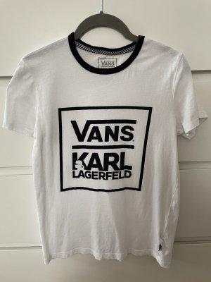 Vans T-Shirt white-black