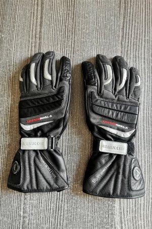 Vanucci Padded Gloves black-dark grey mixture fibre
