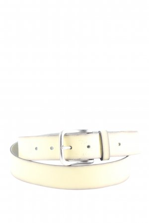 Vanzetti Leather Belt natural white-light grey casual look