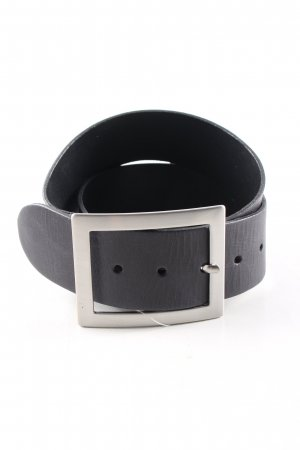 Vanzetti Leather Belt black casual look