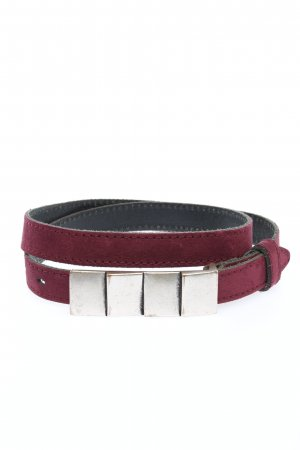 Vanzetti Leather Belt lilac casual look