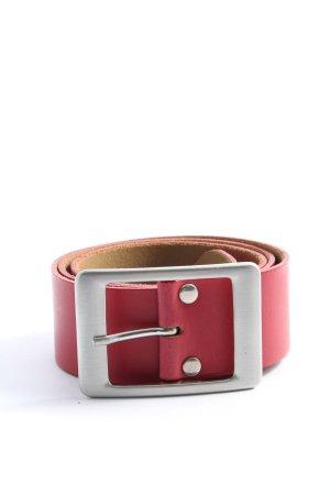 Vanzetti Ledergürtel pink Casual-Look