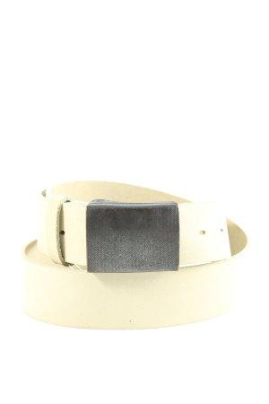 Vanzetti Leather Belt natural white business style