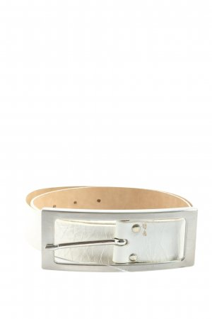 Vanzetti Leather Belt white casual look