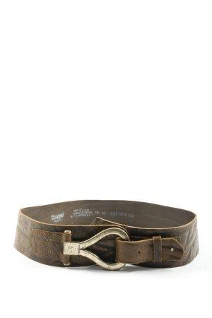 Vanzetti Leather Belt brown street-fashion look