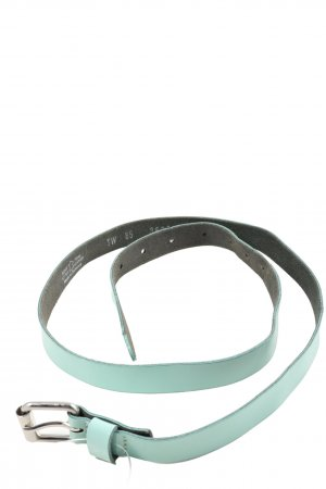Vanzetti Leather Belt turquoise casual look