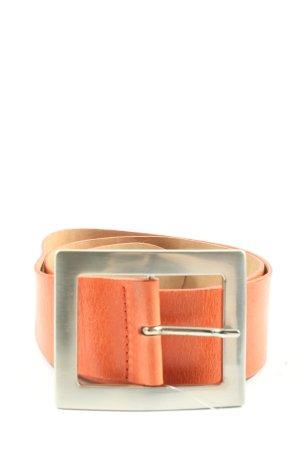 Vanzetti Cinturón de cuero marrón elegante